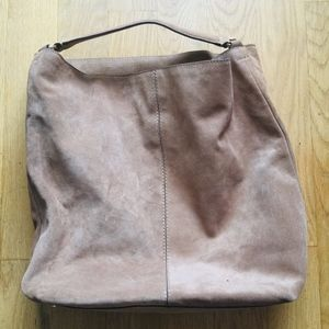 Banana Republic Light Brown Leather Shoulder Bag